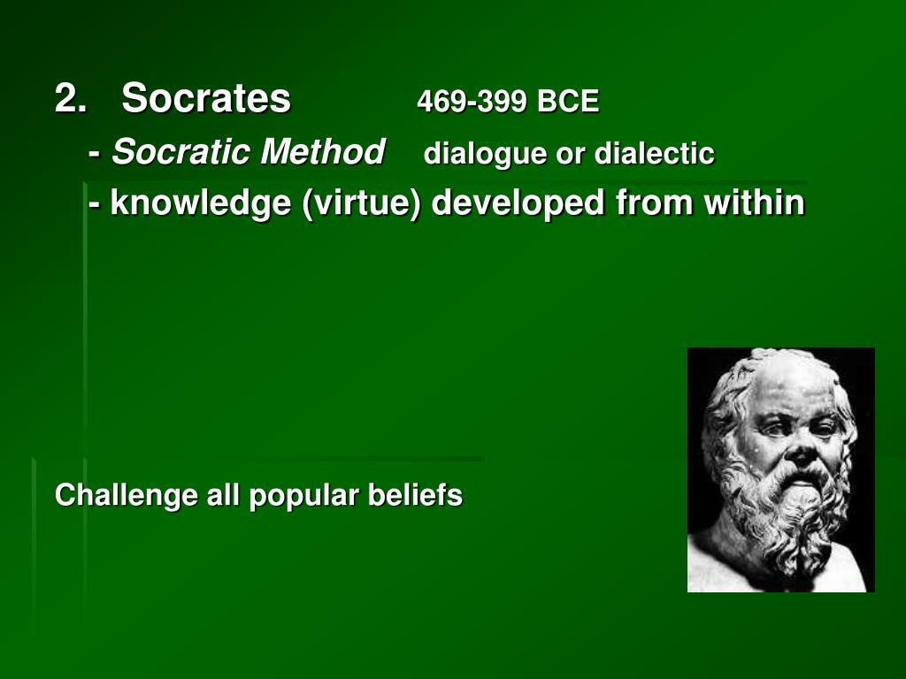2.   Socrates