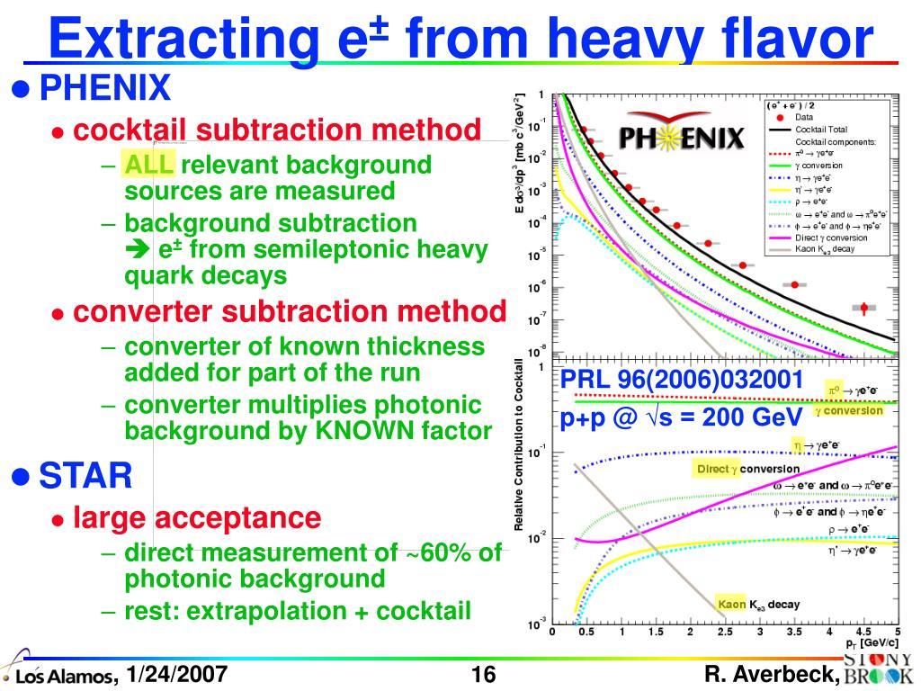 Extracting e