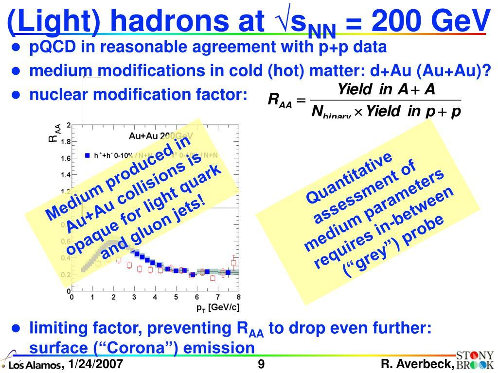 (Light) hadrons at