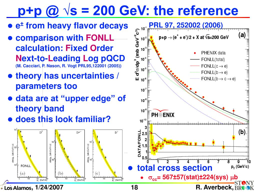 p+p @ √s = 200 GeV: the reference
