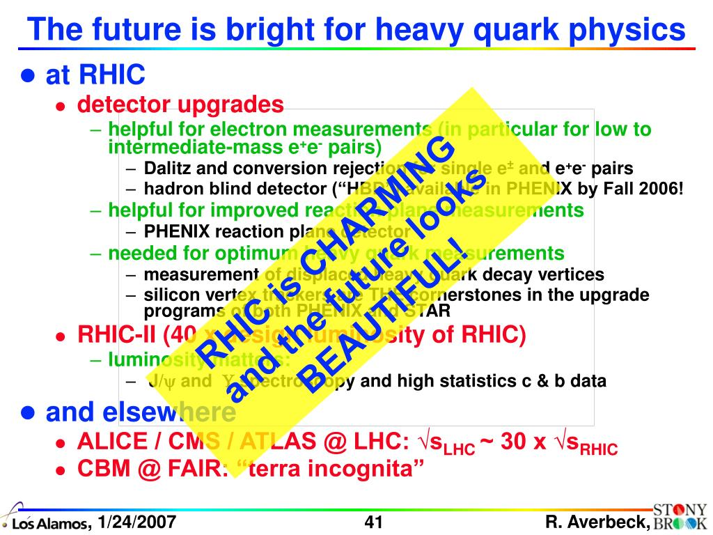 The future is bright for heavy quark physics