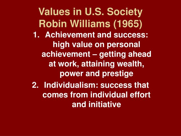 Values in u s society robin williams 1965 l.jpg