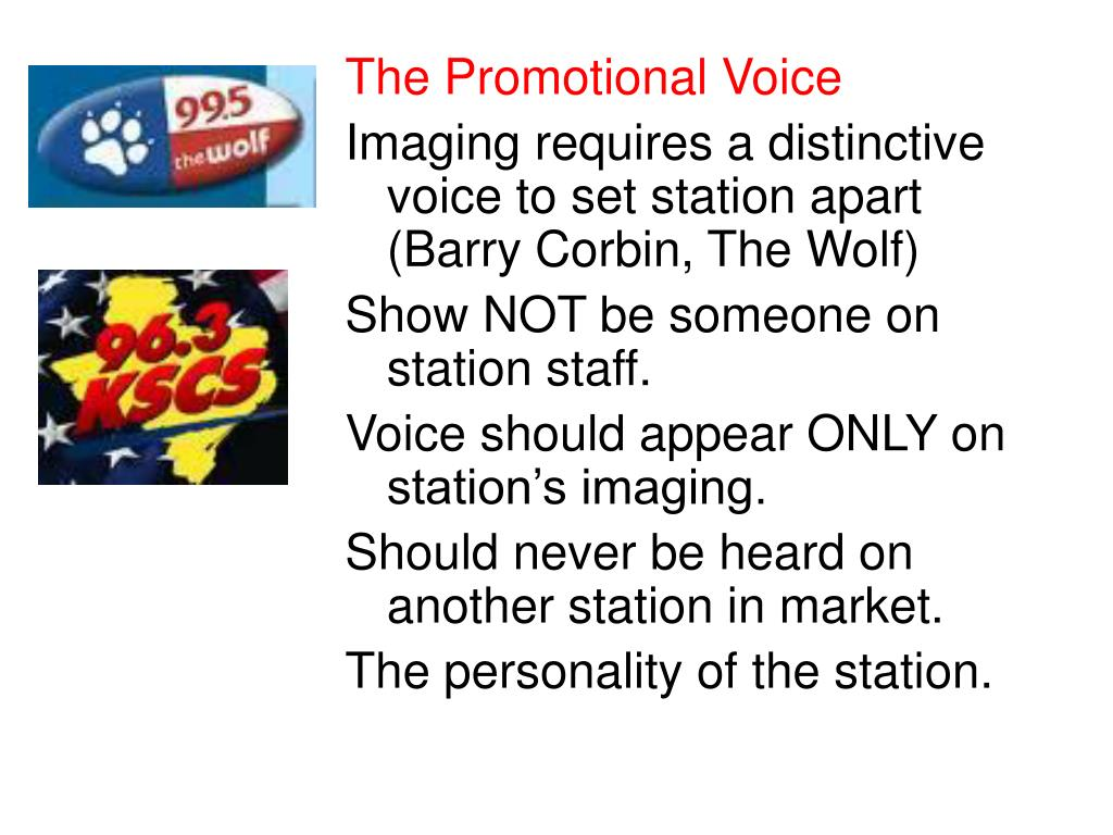 The Promotional Voice