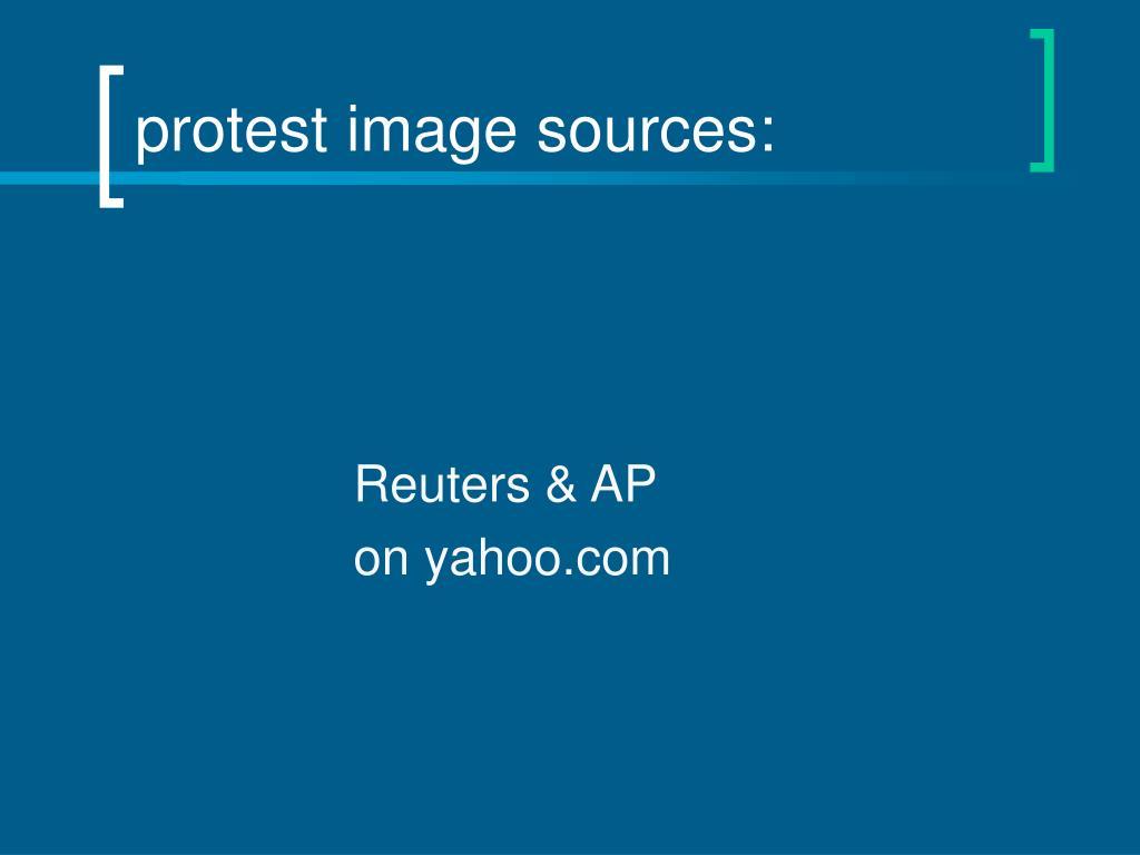 Reuters & AP