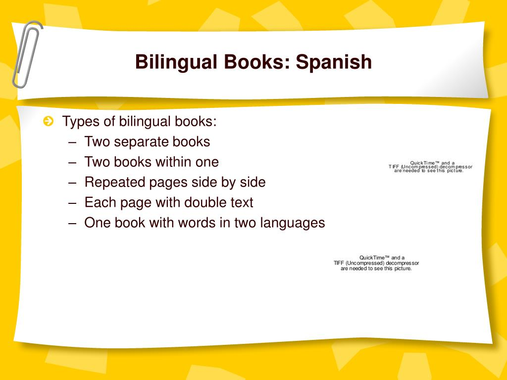 Bilingual Books: Spanish