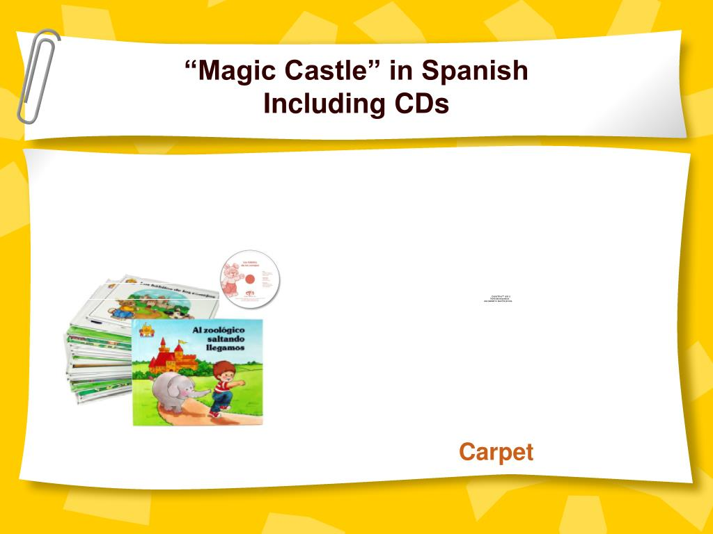 """Magic Castle"" in Spanish"