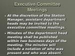 executive committee meetings25