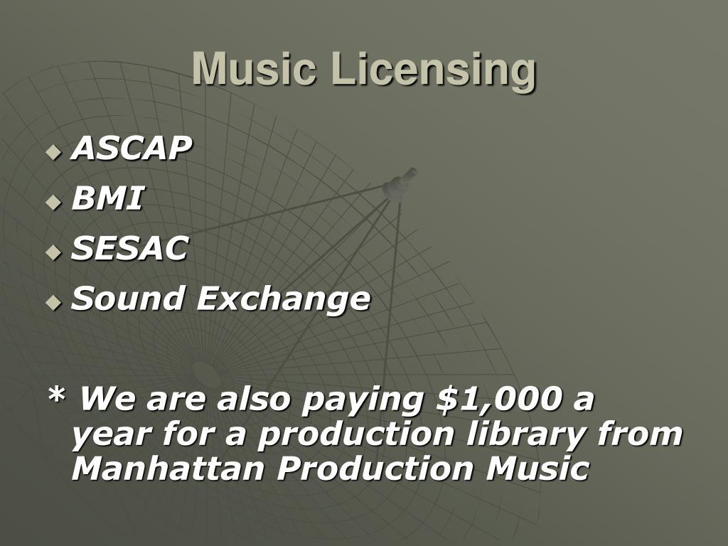 Music Licensing