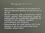 program director17