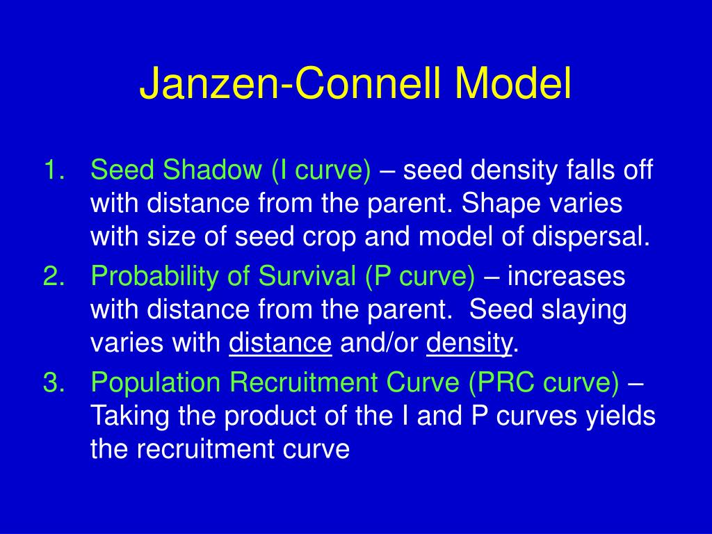 Janzen-Connell Model