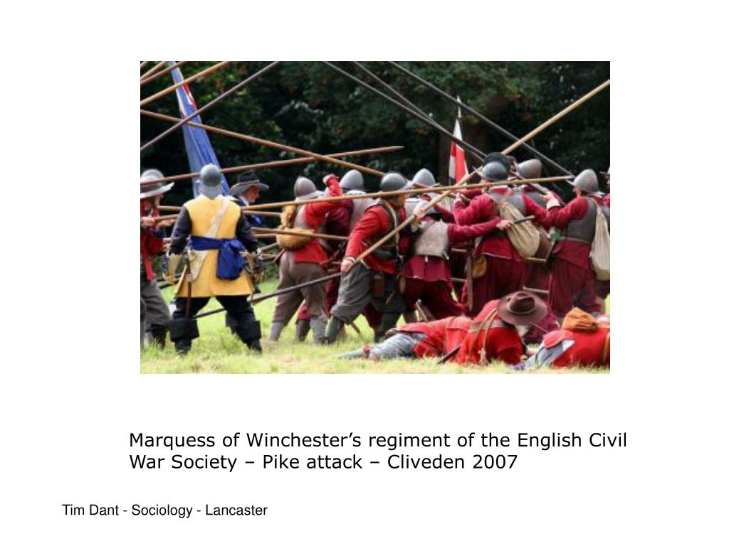 Marquess of Winchester's regiment of the English Civil