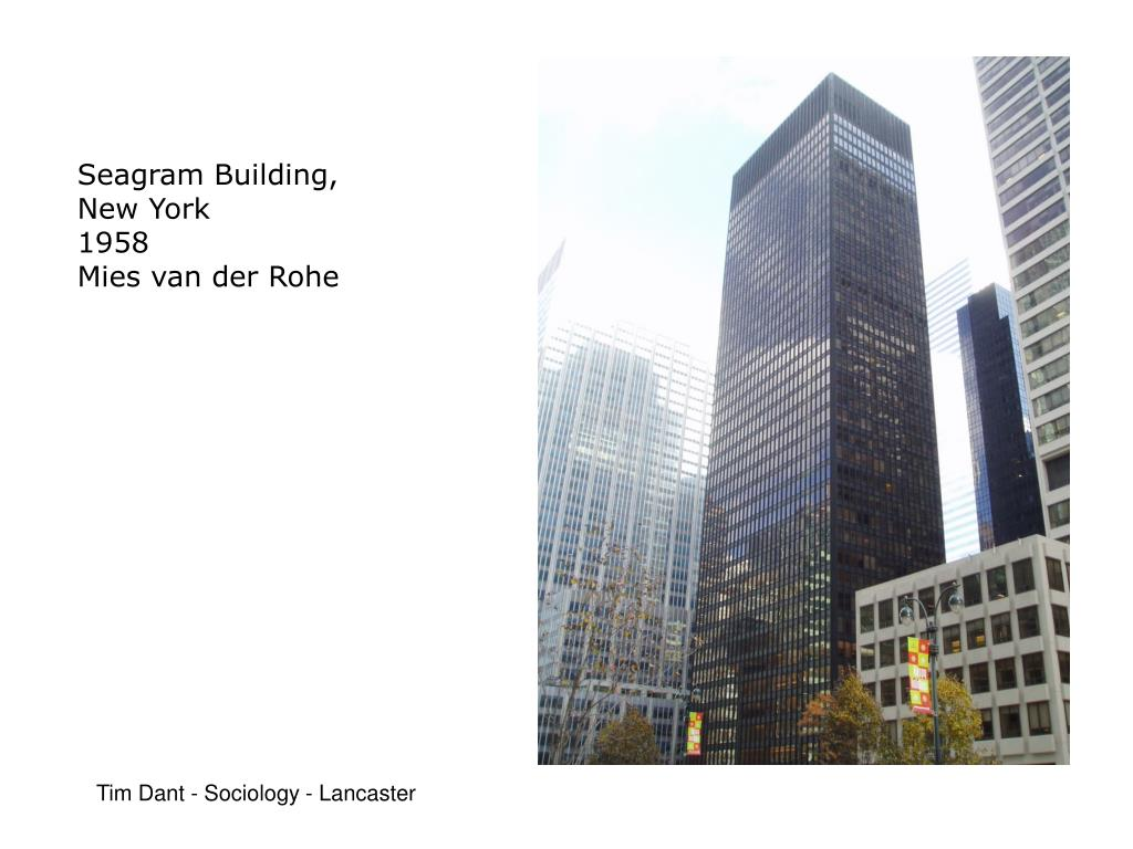 Seagram Building,