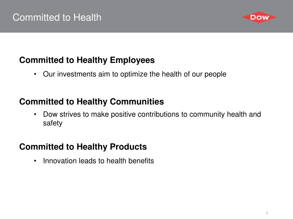 Committed to Health