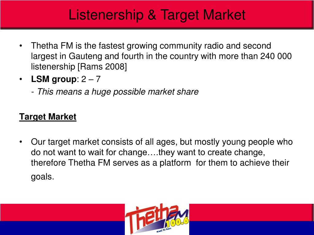 Listenership & Target Market