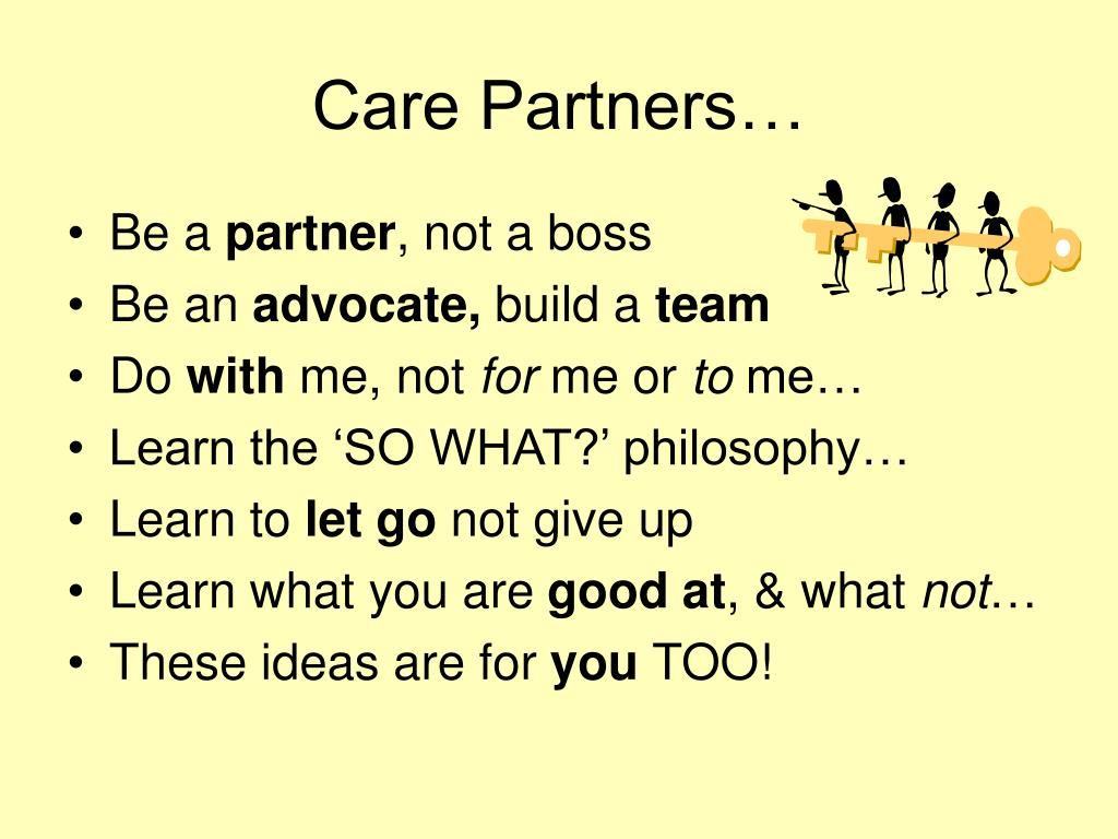 Care Partners…