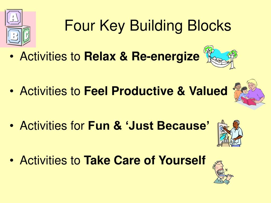 Four Key Building Blocks