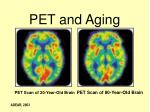 pet and aging
