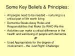 some key beliefs principles