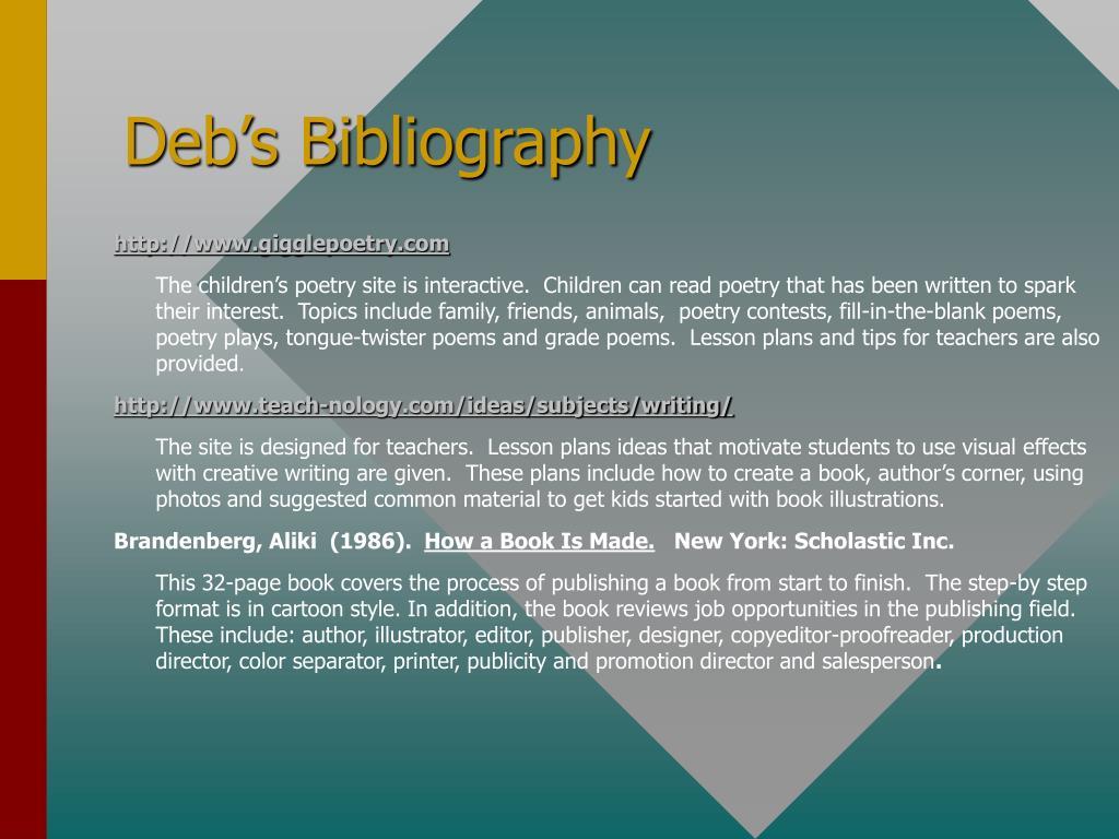 Deb's Bibliography