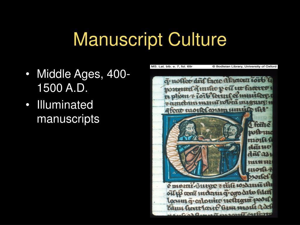 Middle Ages, 400-1500 A.D.