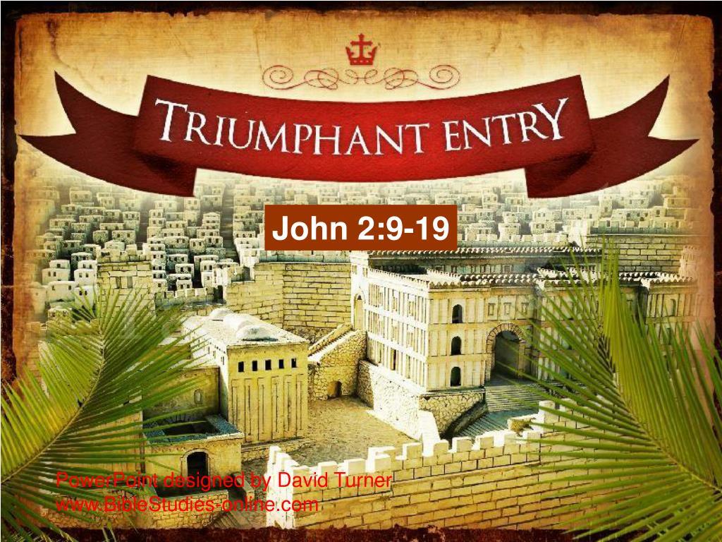 John 2:9-19