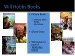 will hobbs books
