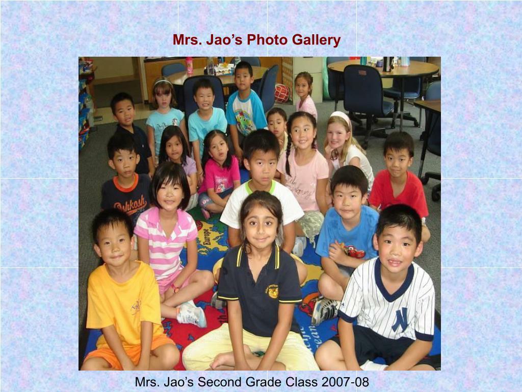 Mrs. Jao's Photo Gallery