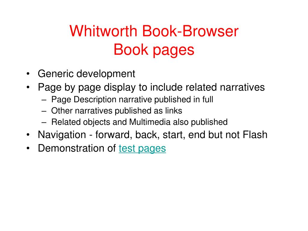 Whitworth Book-Browser