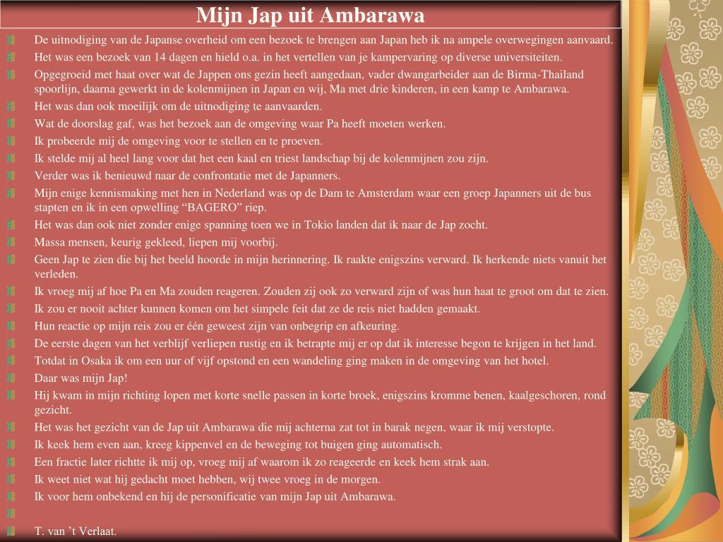 Mijn Jap uit Ambarawa