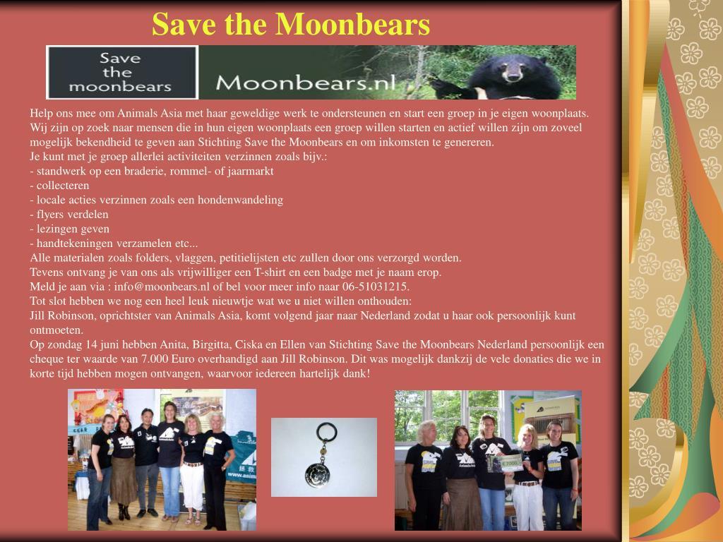 Save the Moonbears