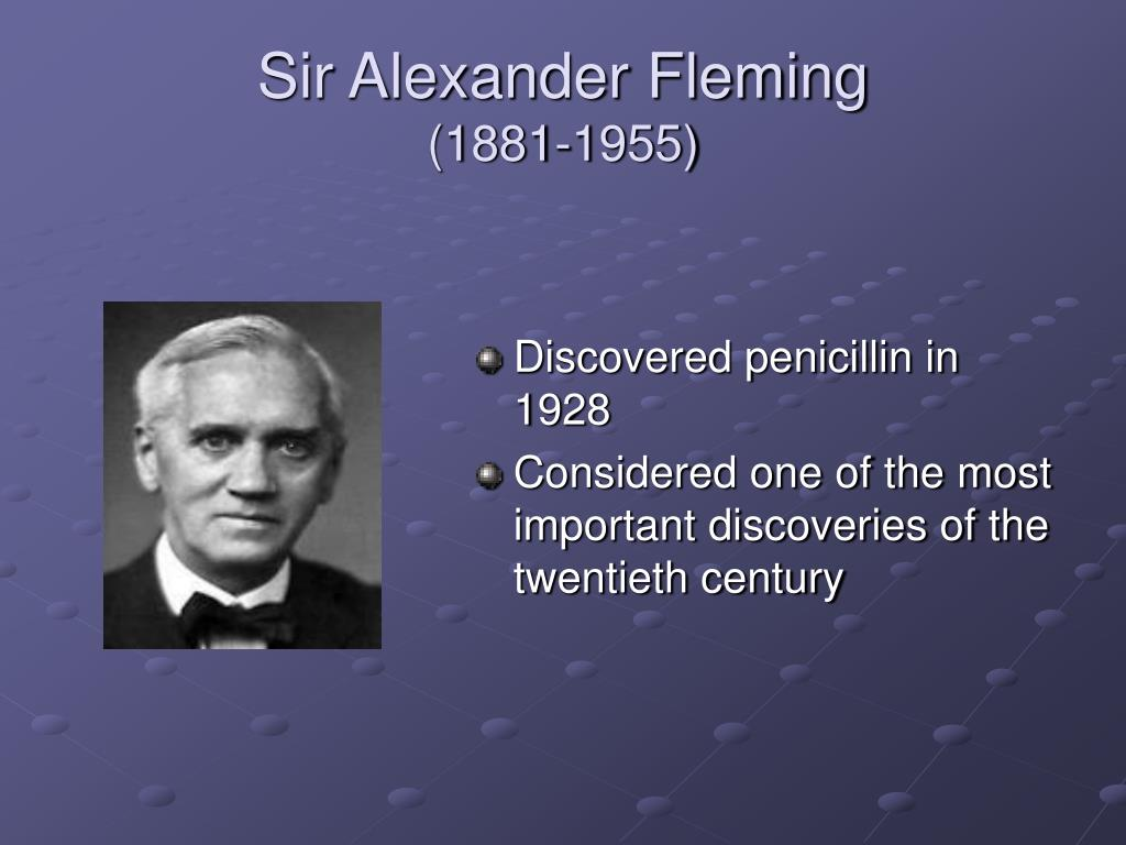 alexander fleming and penicillin essay At paper-research view bio of alexander fleming andré maurois, the life of sir alexander fleming, discoverer of penicillin offers pre-written essays.