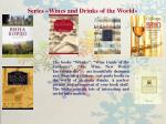 series wines and drinks of the world