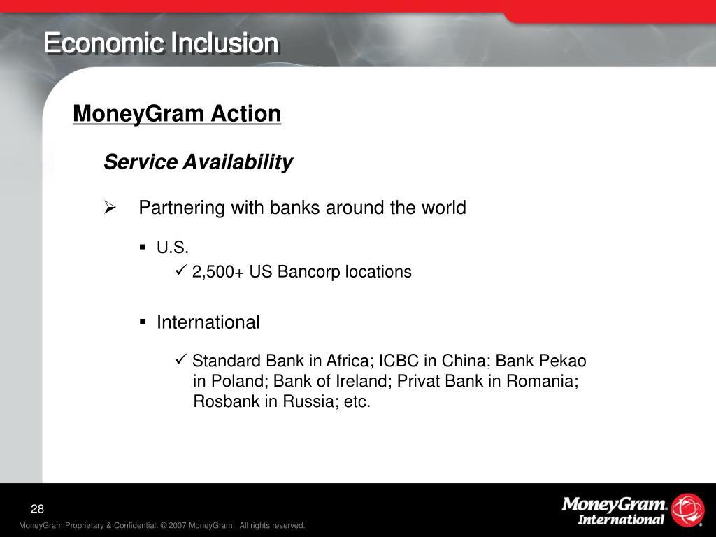 Economic Inclusion