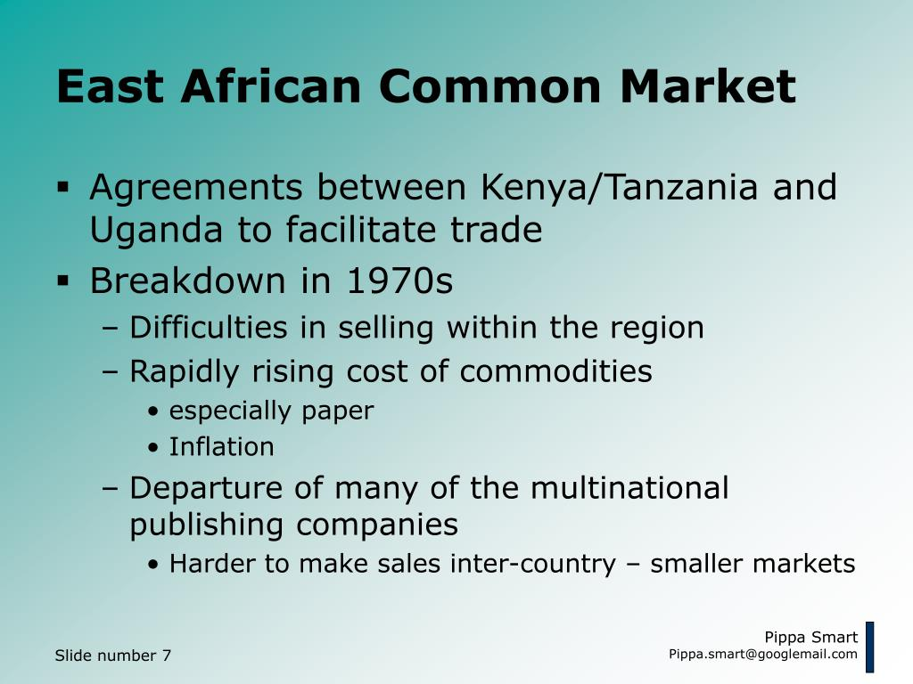 East African Common Market