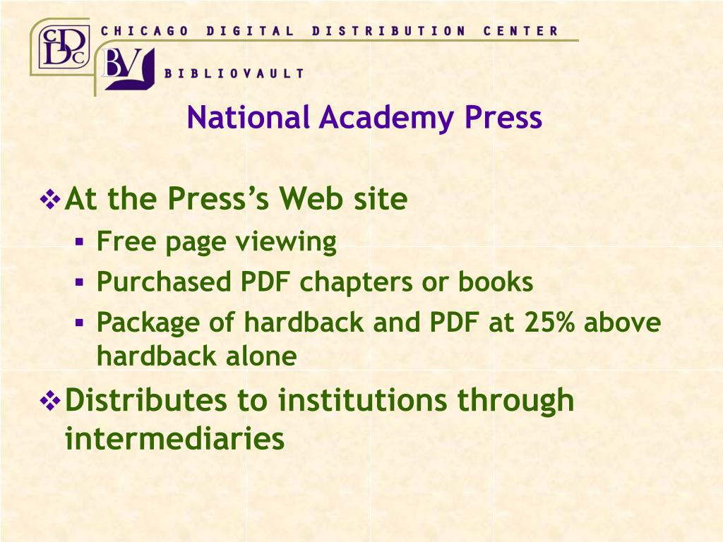 National Academy Press