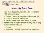 university press goals4