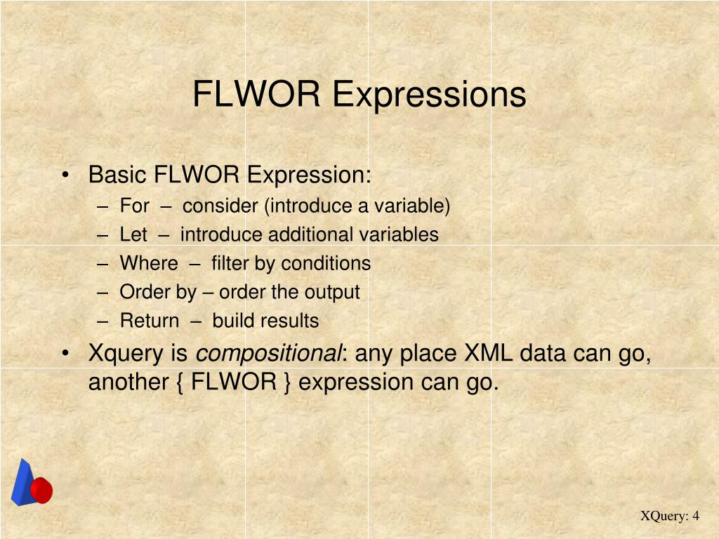 FLWOR Expressions
