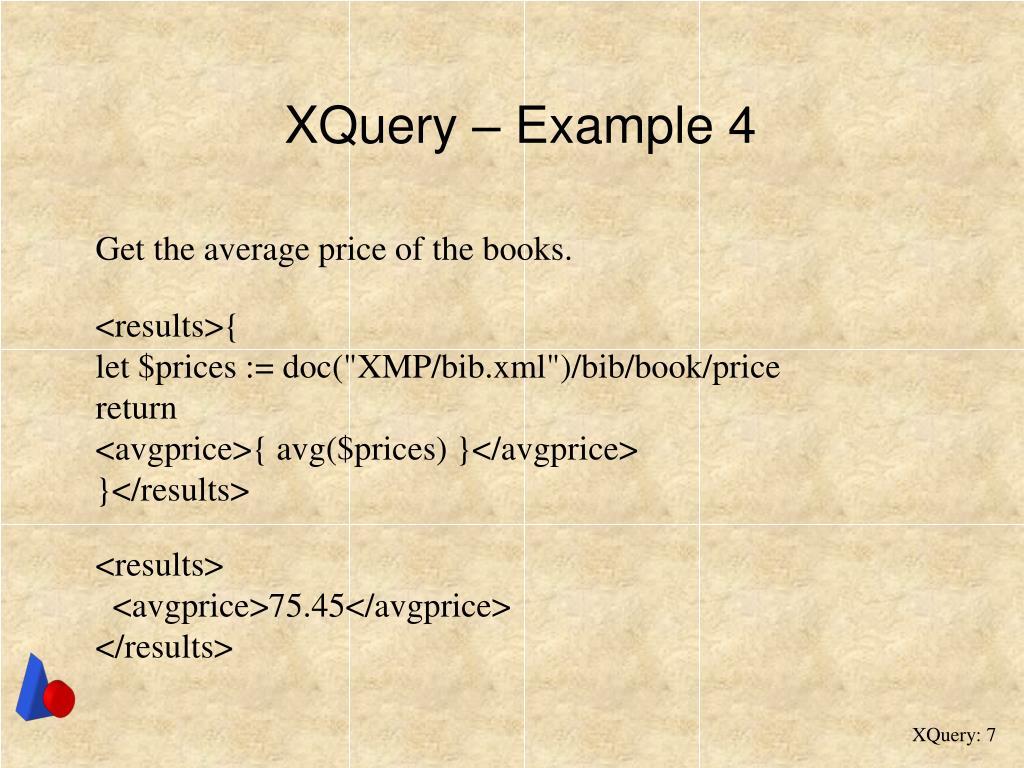 XQuery – Example 4