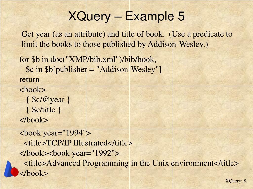 XQuery – Example 5