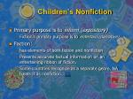 children s nonfiction