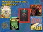 natural sciences and mathematics