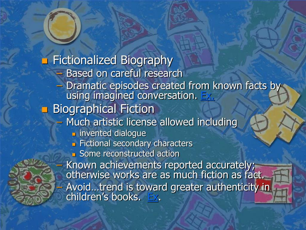 Fictionalized Biography