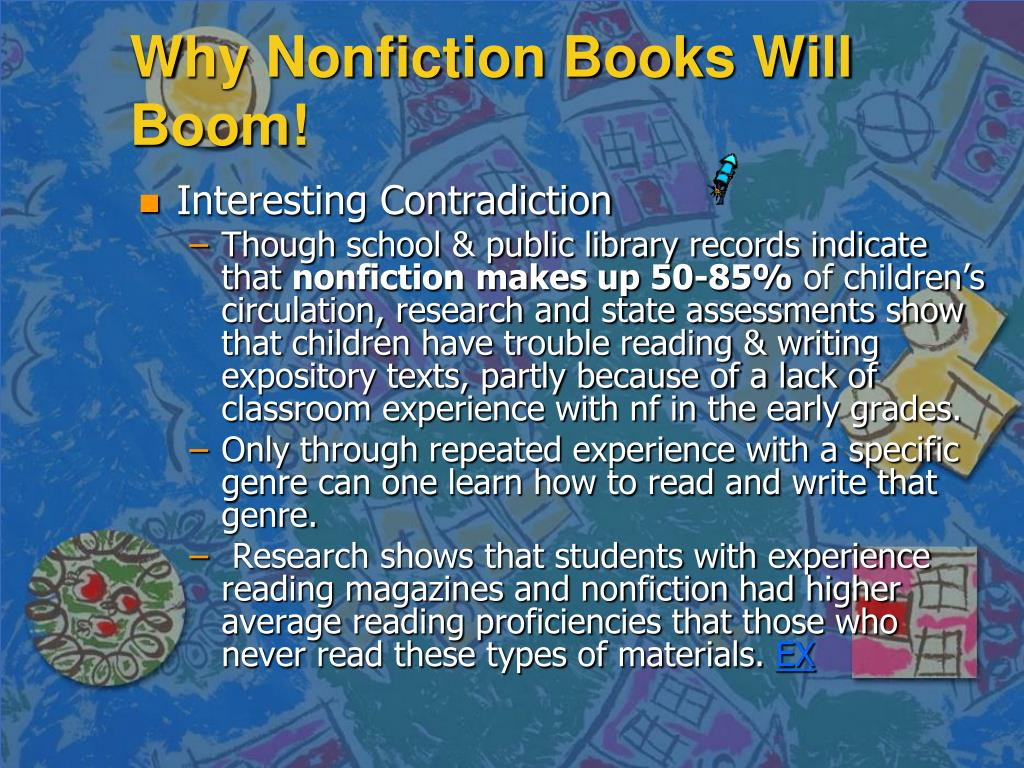 Why Nonfiction Books Will Boom!