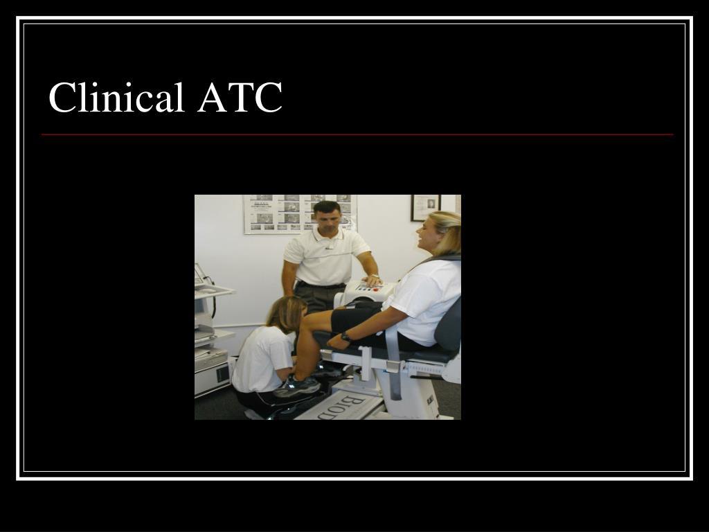 Clinical ATC