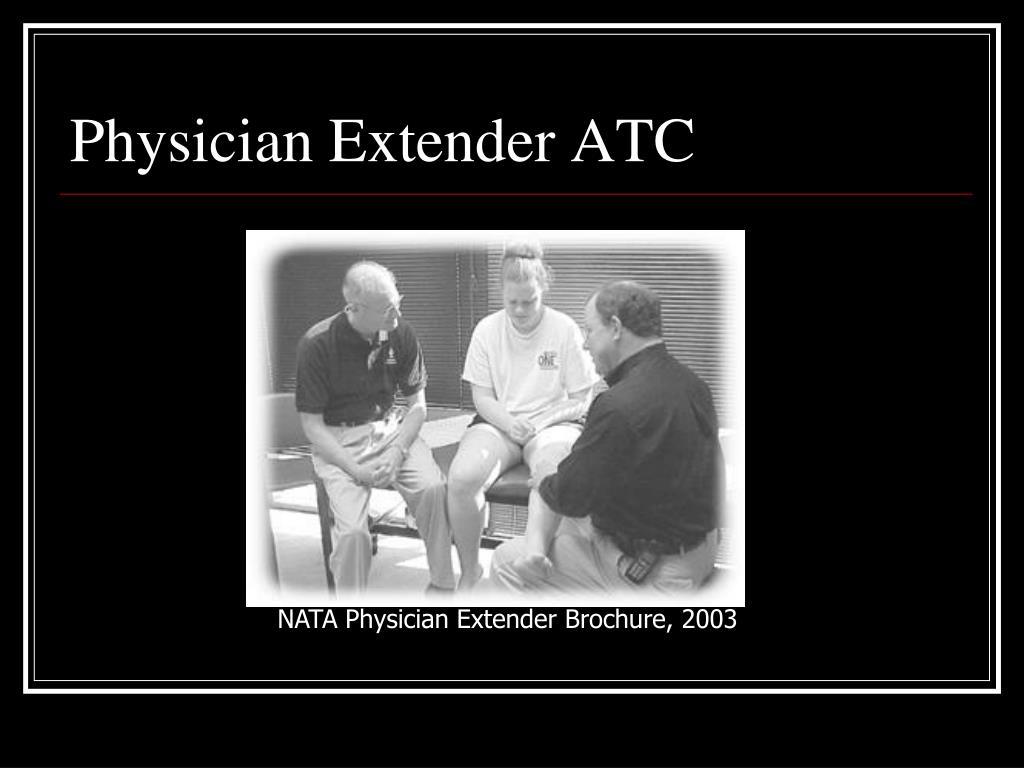 Physician Extender ATC