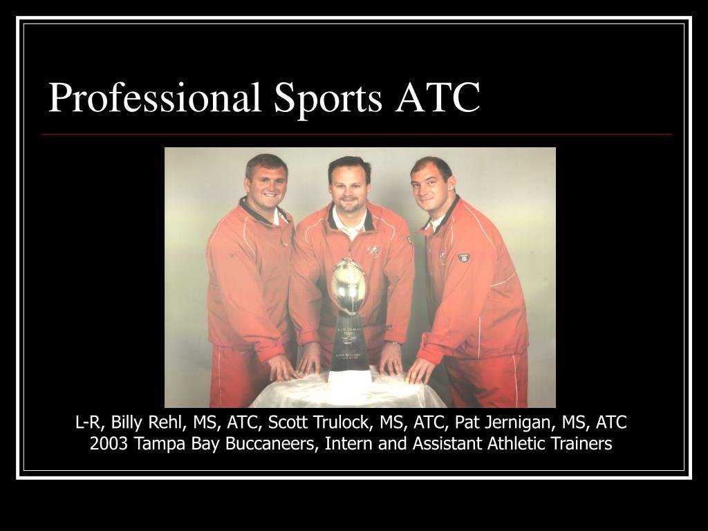 Professional Sports ATC