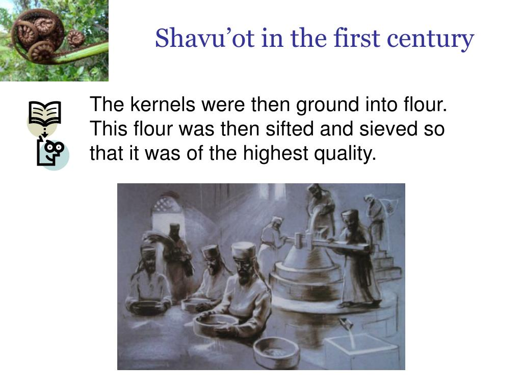 Shavu'ot in the first century