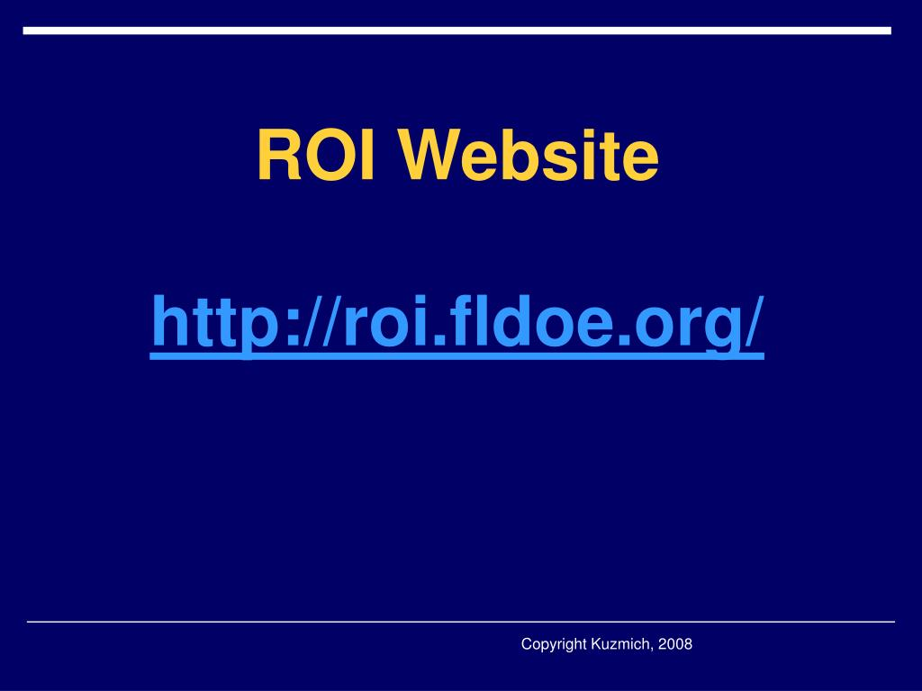 ROI Website