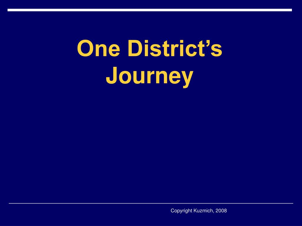 One District's