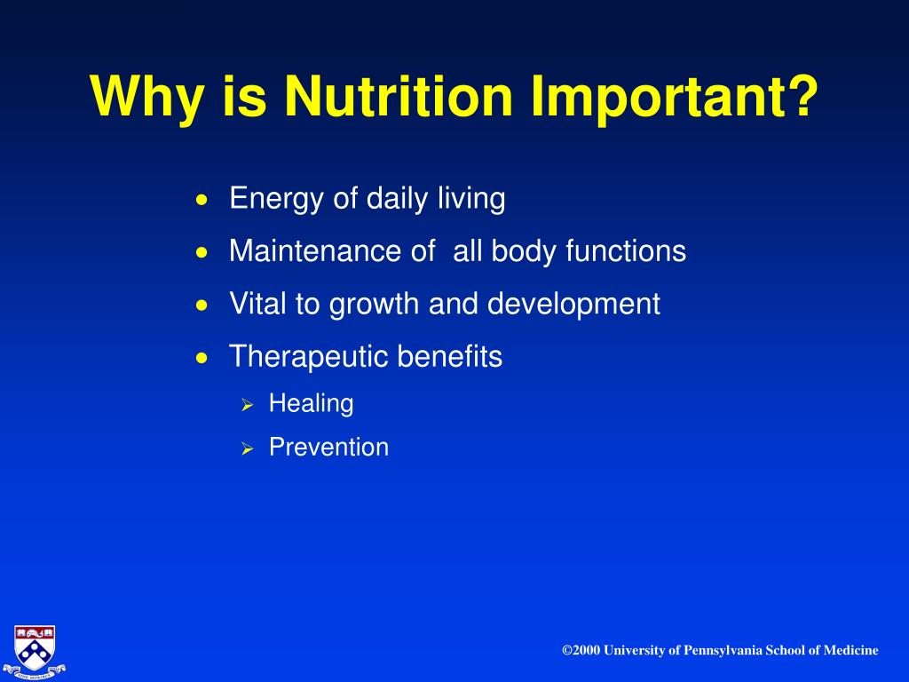 the importance nutrition in infancy and Maternal nutrition 301 introduction a mother's nutrition status and health both before and during pregnancy have significant effects on the outcome of her offspring.